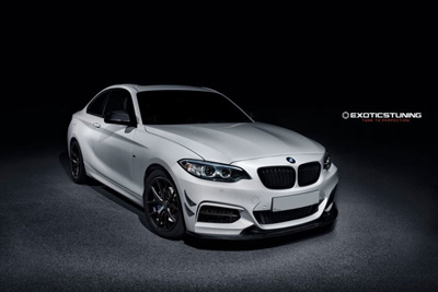BMW 2-Series Coupe (F22) в обвесе Exotics Tuning