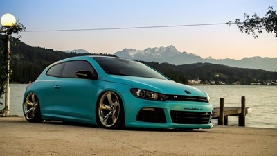 Volkswagen Scirocco R от Platinum Wrapping Film