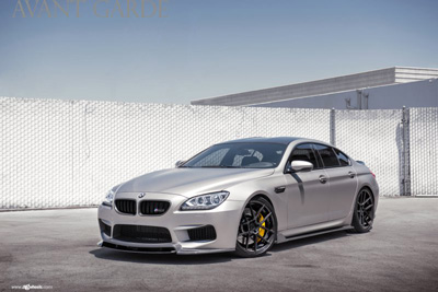 BMW M6 Gran Coupe в обвесе Enlaes на дисках Avantgarde Wheels